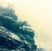 Dağlarda kış — Stok fotoğraf