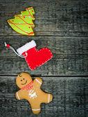 Christmas holiday decorations — Stock Photo