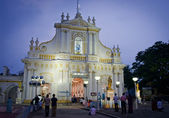 Immaculate Conception Cathedral, India — Stock Photo
