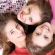 Young beautiful  happy girls — Stock Photo #63048565