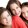 Young beautiful  happy girls — Stock Photo #63048987