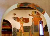 Paintings from Sant Joan in Boi — Stock Photo