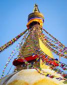 Buddhist Boudhanath Stupa — Stock Photo