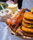 Fried Guinea Pig — Stock Photo
