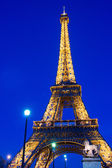 View on Eiffel Tower in Paris, France — Stock Photo