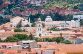 Beautiful view over the city of Sucre at day — Stock Photo