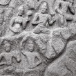 Ancient basreliefs and statues — Stock Photo #75658491