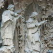 Statues in Sagrada Familia church — Stock Photo #75659527
