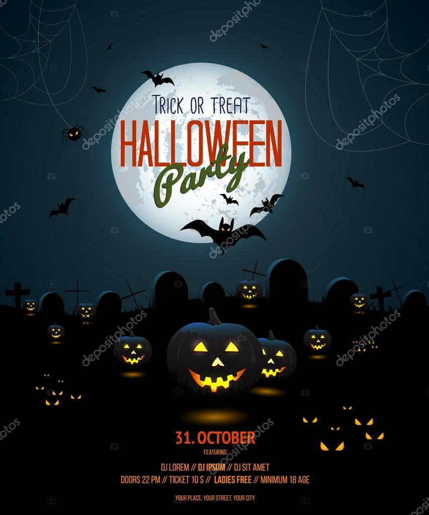halloween poster templates word april onthemarch co