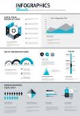 Big set of infographic elements — 图库矢量图片