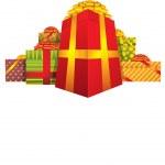 Weihnachtsgeschenke — Stockvektor  #57257841