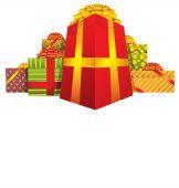 クリスマスのギフト — ストックベクタ