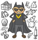Vector batman — Stock Vector