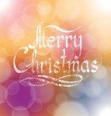 Merry christmas tekst — Stockvector