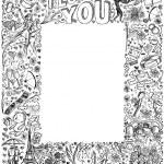 Love story frame background — Stock Vector #63363345