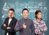Asian Business team — Stock Photo