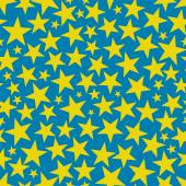 Seamless background with stars — Stock Vector