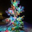 Shining lights of Christmas tree — Stok fotoğraf #52939221
