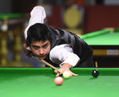 Bangkok, Thailand - SEP 4:Kamal Chawla of India in action during Sangsom Six-red World Championship 2014 at Montien Riverside Hotel on September 4, 2014 in Bangkok, Thailand. — Photo