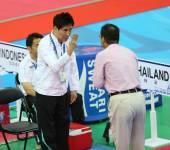 Choi Young Seok head coach of Thailand — Foto Stock