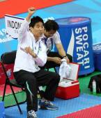Choi Young Seok head coach of Thailand — Photo