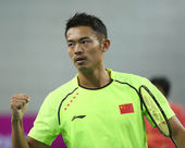 LIN Dan of China — Stock Photo