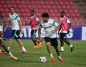BANGKOK, THAILAND - MAY 29:Diego Costa of Chelsea in action duri — Stock Photo