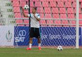 BANGKOK, THAILAND - MAY 29:Eden Hazard of Chelsea in action duri — Stock Photo