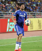 BANGKOK - MAY 30:Diego Costa of Chelsea in action during Singha  — Stock Photo