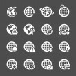 Global communication icon set 2, vector eps10 — Stock Vector #61916397