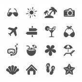 Travel icon set 3, vector eps10 — Stock Vector