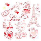 Valentines Day Romance — ストックベクタ