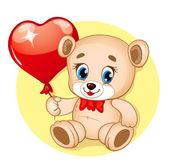 Cute Bear — Stock Vector