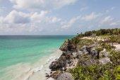 Idyllic beautiful beach — Stock Photo
