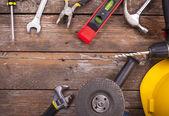 Set of tools — Stockfoto
