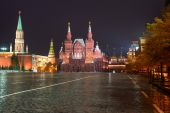 State Historical Museum, Red Square, Moscow, Russia — Foto de Stock