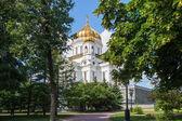 Cathédrale du christ Sauveur, Moscou, Russie — Photo