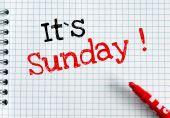 Its Sunday — Stock Photo