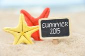 Label Summer 2015 — Stock Photo