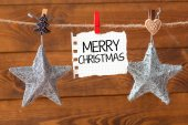 Merry Christmas and happy new year  card — Stock Photo