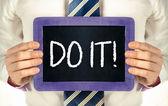 Do it! — 图库照片