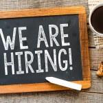 We are hiring — Stock Photo #54800585