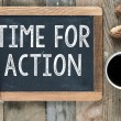 Time for action sign — Stock Photo #58677617