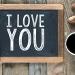 I love you sign — Stock Photo #58677649