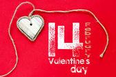Szczęśliwy tło valentine's day — Zdjęcie stockowe