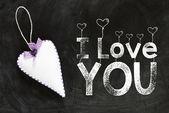 I love you background — Stock Photo
