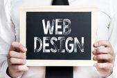 Web Tasarım arka plan — Stok fotoğraf
