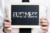 Business background — Stock Photo