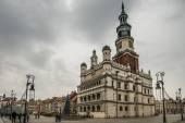 Old Market Square in Poznan — Stock Photo