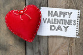Szczęśliwy Walentynki i serca — Zdjęcie stockowe